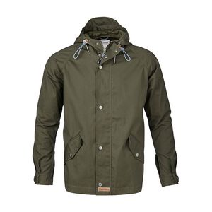 Waxed Canvas Light Jacket - Forrest Green - KnowledgeCotton Apparel
