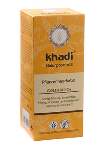 Pflanzenhaarfarbe Goldhauch - Khadi