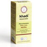 Pflanzenhaarfarbe Senna/Cassis FARBLOS - Khadi