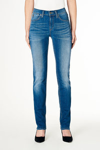 Jeans Straight Fit - Joy - Medium Blue - Kuyichi