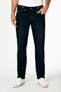 Jeans Straight Fit - Nick - Worn Black - Kuyichi