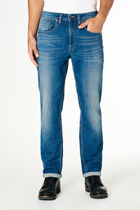 Jeans Straight Fit - Scott - Medium Blue - Kuyichi