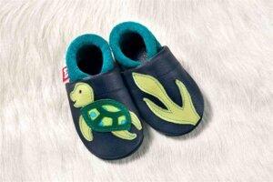 Pololo Soft Schildkröte EMMA enzian waikiki - Pololo