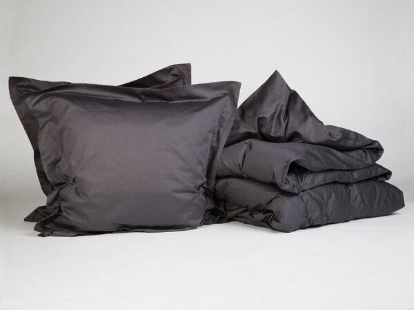 yumeko bettw scheset baumwollsatin dark anthracite. Black Bedroom Furniture Sets. Home Design Ideas