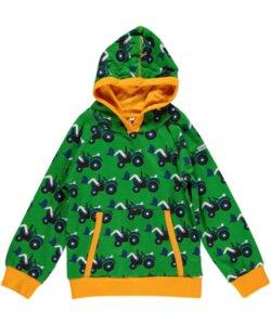 Kapuzen-Pullover Hoodie 'Trecker' für Mädchen und Jungen - maxomorra