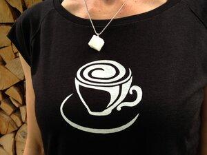 T-Shirt + Kette 'Zucker' - Zucker