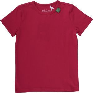 Kurzarmshirt Alfa Red - Green Cotton