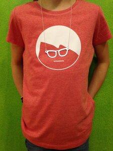 Kinder-Shirt + Kette 'Brille' - Zucker