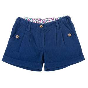 Girls Babycord Shorts navy - Kite