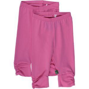 Alfa leggings 3/4 pink - Green Cotton