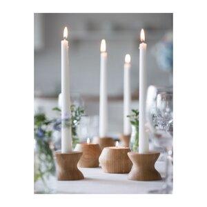 Bambus Teelichthalter (H 6cm; Ø 8cm) - Bambu