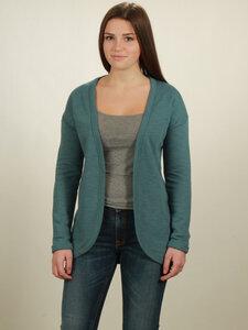 Jersey Cardigan Damen - light turquoise - NATIVE SOULS