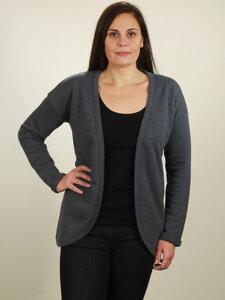 Jersey Cardigan Damen - midnight blue - NATIVE SOULS
