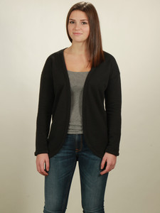 Jersey Cardigan Damen - black - NATIVE SOULS