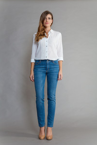 NENA Wave Blue/Honey - SEY organic Jeans