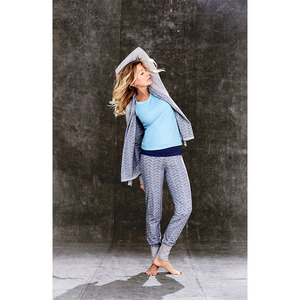 Yoga Jacke in grau/melange - People Wear Organic