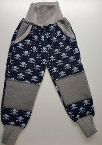 Sweathose Sculls jeansblau-grau - Omilich