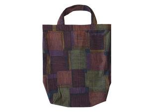 Einkaufstasche Naturtöne, Upcycling Stoffbeutel braun von Leesha - Leesha
