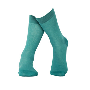 Türkise Socken aus Bio-Baumwolle - MINGA BERLIN