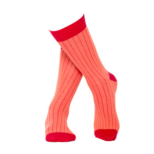 Socken aus Bio-Baumwolle in rot und rosa - MINGA BERLIN