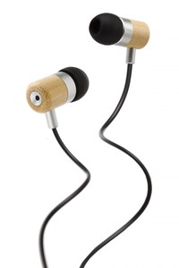 Vers 7E Earphones Bamboo - Kopfhörer aus Bambus - mit Basssystem - Vers