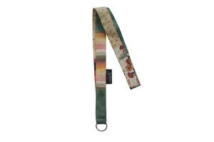 Langes Schlüsselband aus Stoffresten, Upcycling von Leesha - Leesha