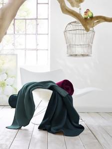 """Kollektion Wohndecke """" Duo-Cotton Trend"""", Uni-Doubleface-Decken  - biederlack"""