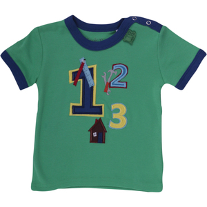 """""""Green Cotton"""" T-Shirt Zahlen - Green Cotton"""