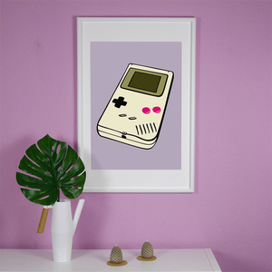 Gameboy - Poster 50 x 70 cm - What about Tee