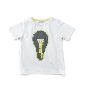 Tshirt mit großem Glühbirnen Print – leuchtet im Dunkeln - filius feez