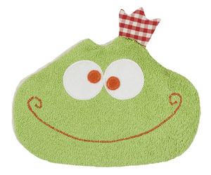 Dinkelkorn-Wärmekissen Frosch, kbA, 100 % Made in Germany - Efie
