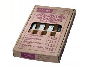 Opinel Küchenmesser-Set, 4-teilig - Opinel