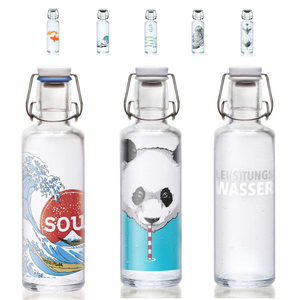 Soulbottles Trinkflasche aus Glas (600ml) – Made in Germany - soulbottles