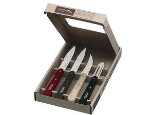 Opinel Küchenmesser-Set, 4-teilig, farbig - Opinel
