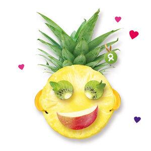 Faire Früchte (Valentinskarte) - OxfamUnverpackt