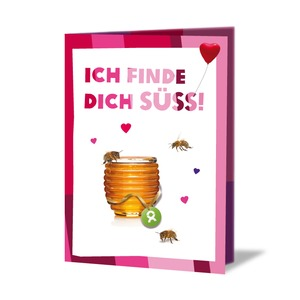 Honigbienen (Valentinskarte) - OxfamUnverpackt