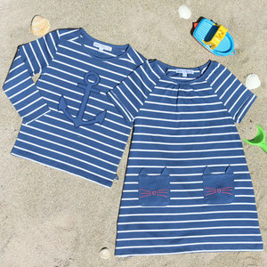 Langarmshirt Anker blue white stripe - Enfant Terrible