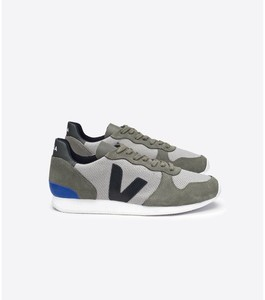 SNEAKER - HOLIDAY LOW TOP B MESH SILVER GREY BLACK - Veja