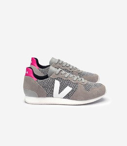 SNEAKER - HOLIDAY LOW TOP BLEND BLACK WHITE OXFORD GREY WHITE - Veja