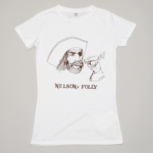 Women T-Shirt NELSONS FOLLY weiß - MR. NELSON ecowear