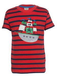 Kurzarmshirt Piratenschiff - Frugi