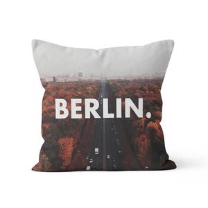 Berlin. - Kissenbezug 40 x 40 cm aus Biobaumwolle - What about Tee