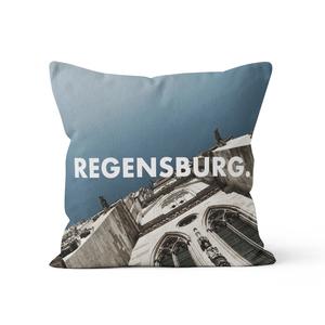 Regensburg. - Kissenbezug 40 x 40 cm aus Biobaumwolle - What about Tee