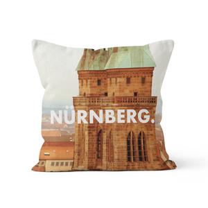 Nürnberg. - Kissenbezug 40 x 40 cm aus Biobaumwolle - What about Tee