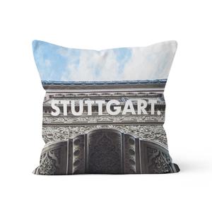 Stuttgart. - Kissenbezug 40 x 40 cm aus Biobaumwolle - What about Tee