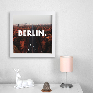 Berlin. - Poster 50 x 50 cm - What about Tee