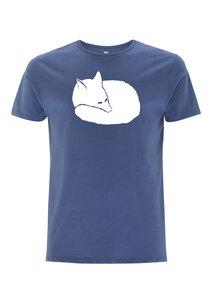 Fuchs Herren T-Shirt Bio & Fair Wear denim - ilovemixtapes