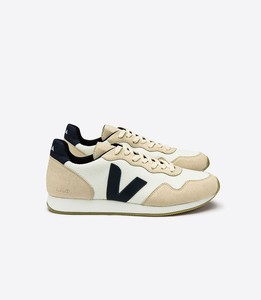 SNEAKER - HOLIDAY LOW TOP SDU WHITE SABLE NAUTICO - Veja