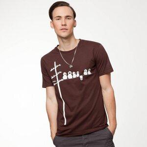 FellHerz Make some noise T-Shirt chocolate - FellHerz