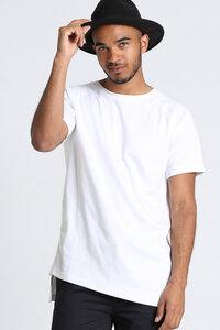 T-Shirt Asymmetrie // Weiß - WIEDERBELEBT